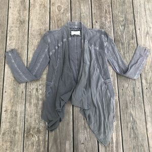 Saturday Sunday grey distressed cardigan